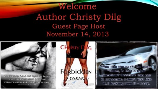 Christy Dilgs, Forbidden Forever Guest host image
