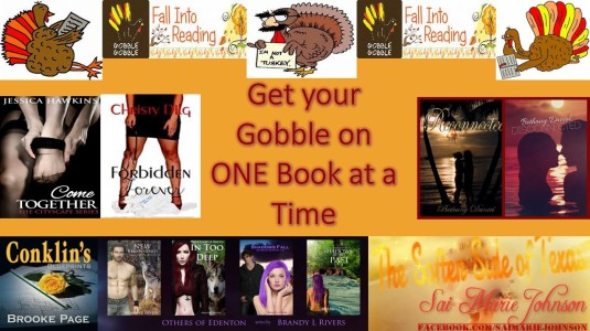 Gobble Book Promo Image 1 November 2013
