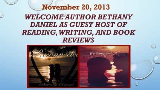 Welcome Author Bethany Daniel as Guest Host of