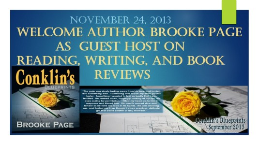 Welcome Author Brooke Page