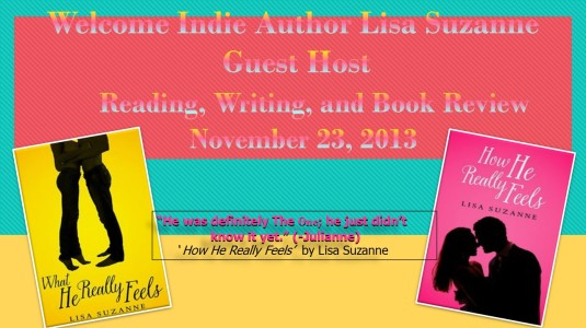 Welcome Indie Author Lisa Suzanne