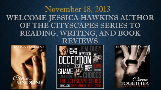 Welcome Jessica Hawkins Author of The CityScapes Series