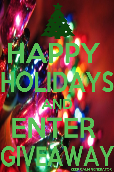 keep calm holiday giveaway poster