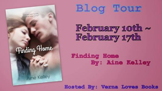 finding home blog tour