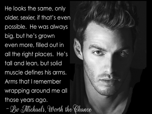 Worth the Chance Excerpt 1