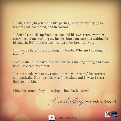 Everlasting book quote 2 author candace knoebel