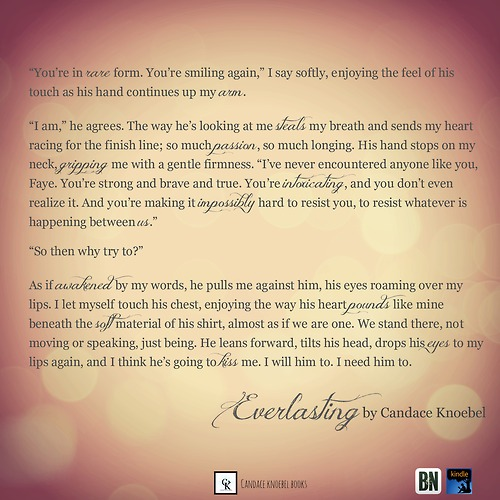 Everlasting book quote author candace knoebel