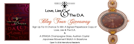 Love, Lies & The D.A. Blog Tour Giveaway