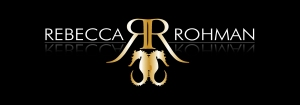 Rebecca Roman Logo Black Background