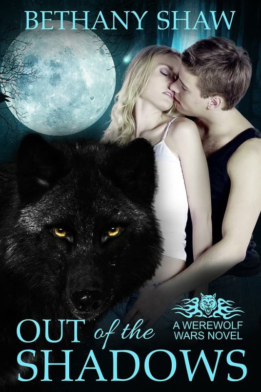 large Out of the shadows cover bethany shaw
