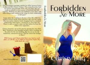 Forbidden no more paperback cover