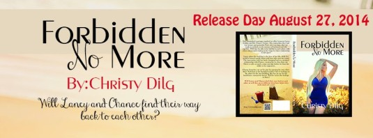 Forbidden No More Release day banner