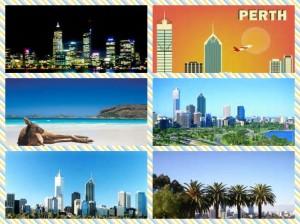 Perth Australia collage