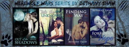 Werewolf Wars banner books 1-4